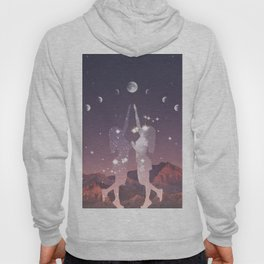 REACHING FOR THE MOON Hoody