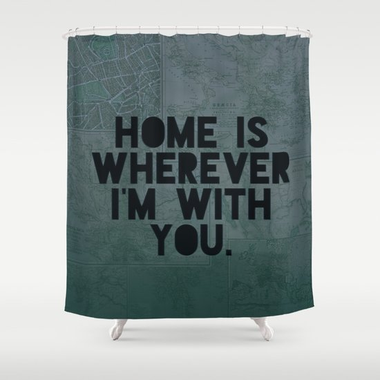 With You II Shower Curtain