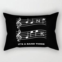 Music - It's A Band Thing Rectangular Pillow