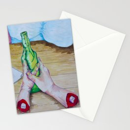 Not All There Stationery Cards