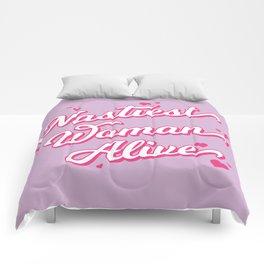Nastiest Woman Alive Comforters