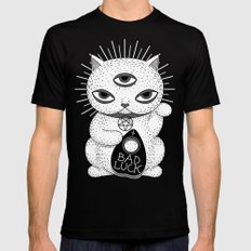 BAD LUCK Black SMALL Mens Fitted Tee