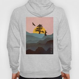 Nature Love Of A Peacful Warrior Hoody
