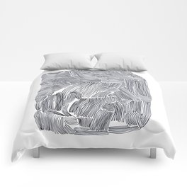 Straight lines Comforters
