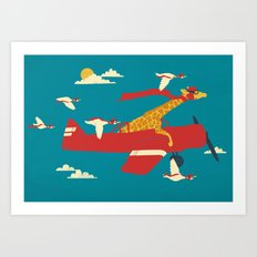 Red Barons Art Print
