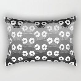 susuwatari pattern Rectangular Pillow