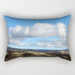 Clouds Over Yosemite and Mariposa Rectangular Pillow