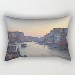 Venice Cinematic Rectangular Pillow