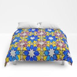 Azulejos - Portuguese tiles Comforters