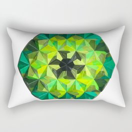 Forest Hues Rectangular Pillow