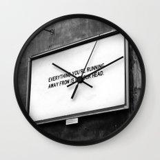 BILLBOARD FANTASIES #2 Wall Clock