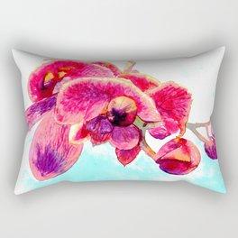 Woody Orhids Rectangular Pillow