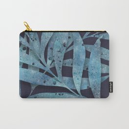 Watercolor Ferns Carry-All Pouch