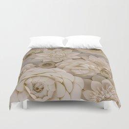 Paper Bouquet Duvet Cover