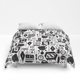 Write This Way Pattern Comforters