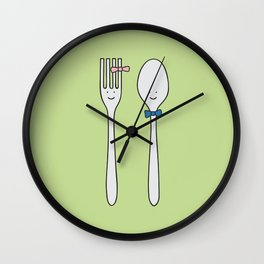we were made for each other Wall Clock