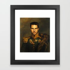 Tom Cruise - replaceface Framed Art Print
