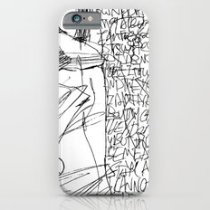 Line and Words - 2 iPhone 6s Slim Case