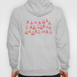 Watermelons - white background Hoody