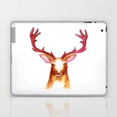 Deer Watercolor Print Laptop & iPad Skin
