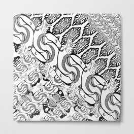 random absraction Metal Print