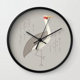 Brolga, Bird of Australia Wall Clock