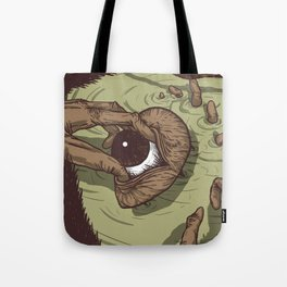 A Talk with Wise Monkey : Open Your Eye Tote Bag