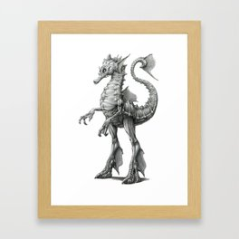 The Atlantic Sea Raptor Framed Art Print