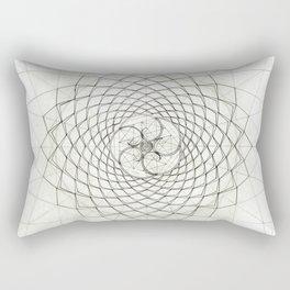 Fractal Star Rectangular Pillow