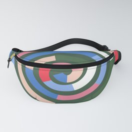 Feel Your Soul - Green Fanny Pack