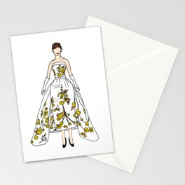 Audrey 12 Stationery Cards