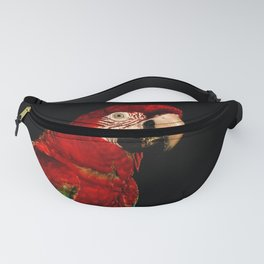 Red macaw Fanny Pack