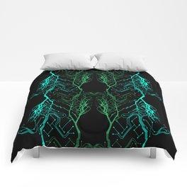 Techno Tree Comforters