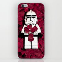 american beauty iPhone & iPod Skins featuring American 'Trooper' Beauty by Peter Devine