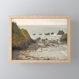 Ecola Point, Oregon Coast, hiking, adventure photography, Northwest Landscape Framed Mini Art Print