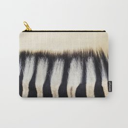 Zebra hair Carry-All Pouch