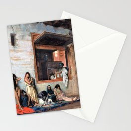 Jean-Leon Gerome - The Slave Market - Digital Remastered Edition Stationery Cards