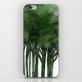 Tree Impressions No.1C by Kathy Morton Stanion iPhone Skin