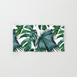 Tropical Palm Leaves Classic Hand & Bath Towel