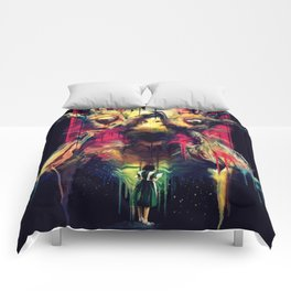 Pan's Labyrinth (Pale Man) Comforters