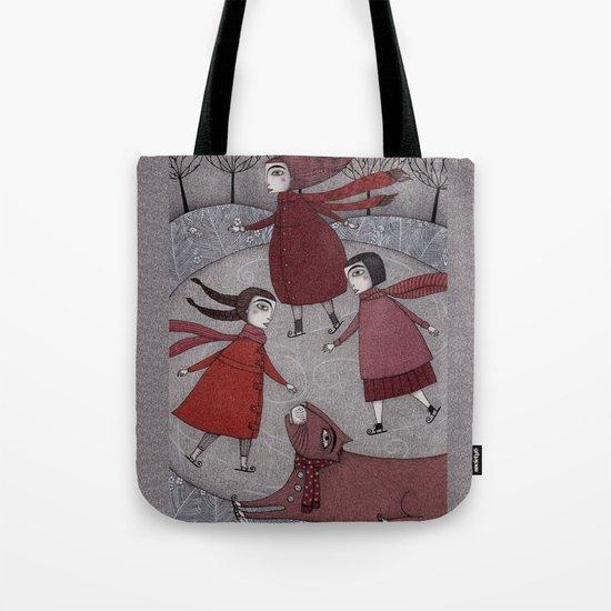 Winter Days Tote Bag