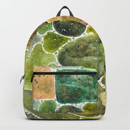 Green stones Backpack