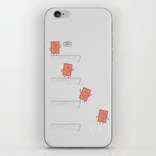 Carpet Diem iPhone & iPod Skin