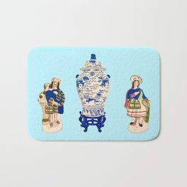 Tsochtkes and Ginger Jar Bath Mat