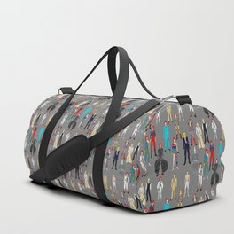 Retro Vintage Fashion 1 Duffle Bag