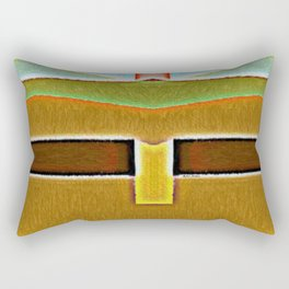 Year 2058 Rectangular Pillow