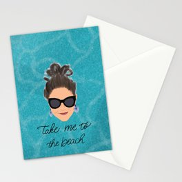 Beach Babe Stationery Cards