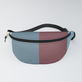 Parable to Behr Blueprint Color of the Year and Accent Colors Vertical Stripes 3 Fanny Pack