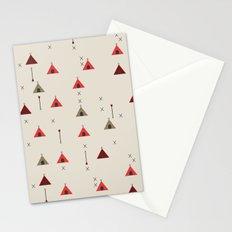 TEE PEE - Tipi - NATIVE NAVAJO PRINT Stationery Cards