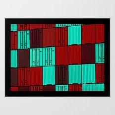 Import / Export Art Print
